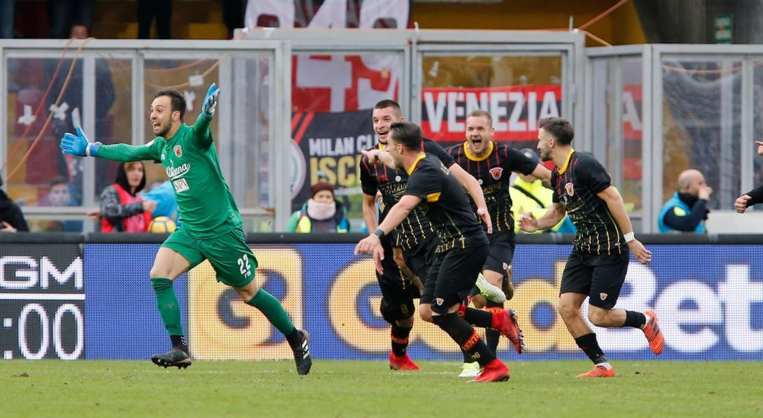 Milan Benevento streaming live gratis. V