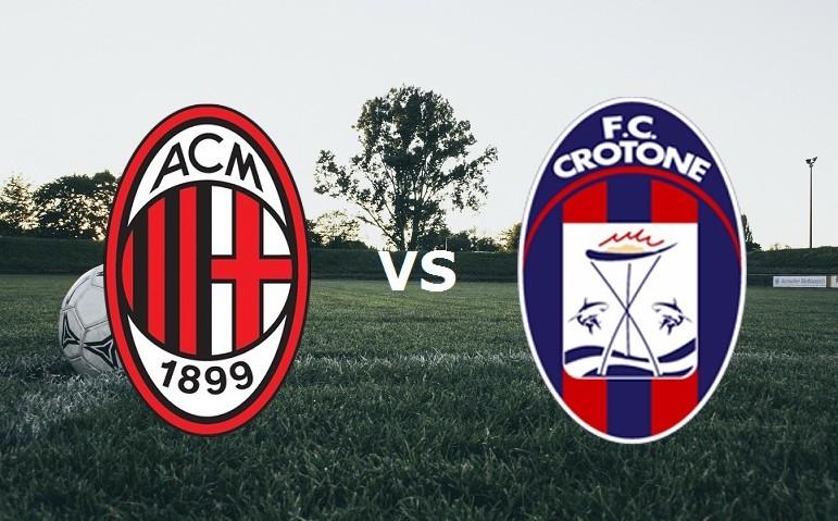 Milan Crotone streaming per vedere parti