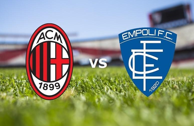Milan Empoli streaming gratis live. Vede
