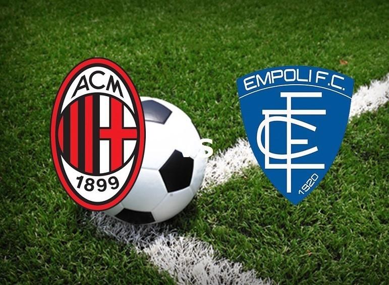 Milan Empoli streaming gratis live diret