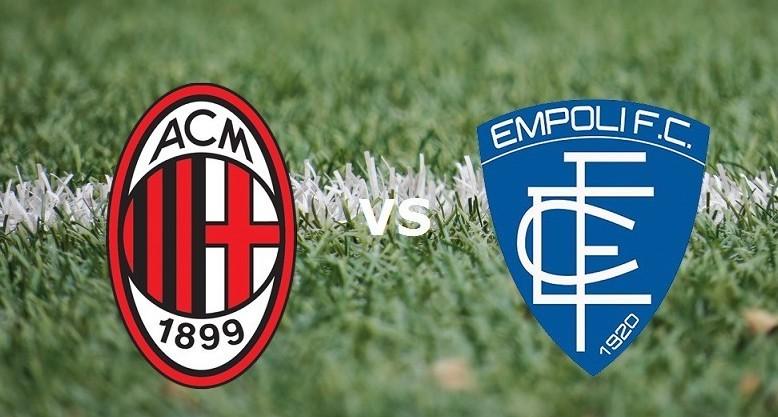Milan Empoli streaming live gratis su li