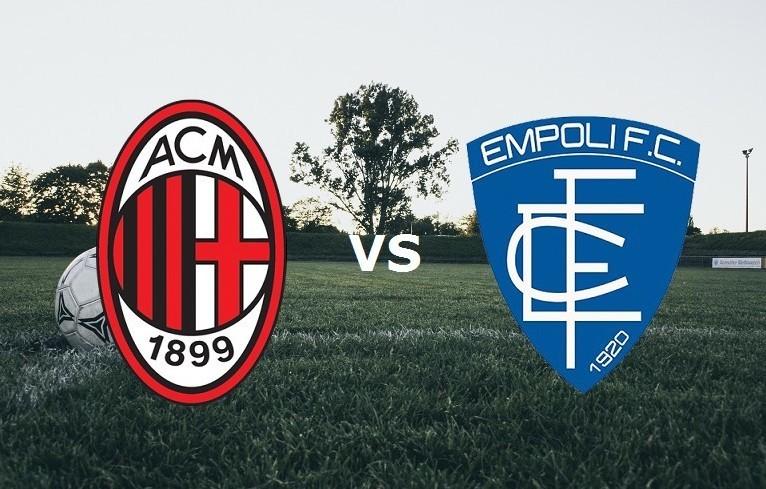 Milan Empoli streaming su link, Rojadire