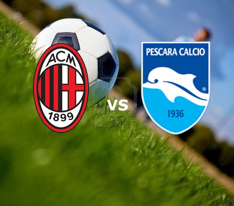 Milan Pescara streaming. Vedere