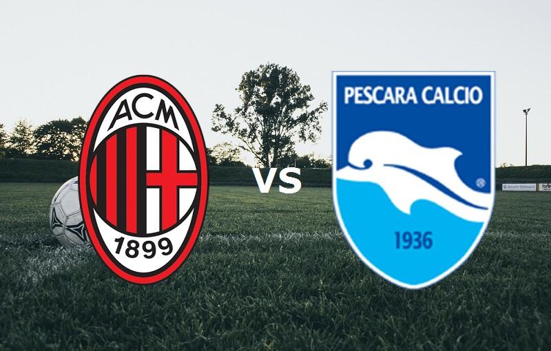 Milan Pescara streaming gratis per veder