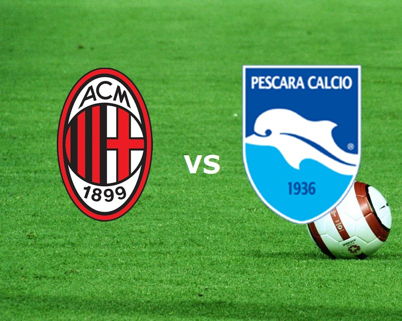 Milan Pescara streaming (IN AGGIORNAMENT