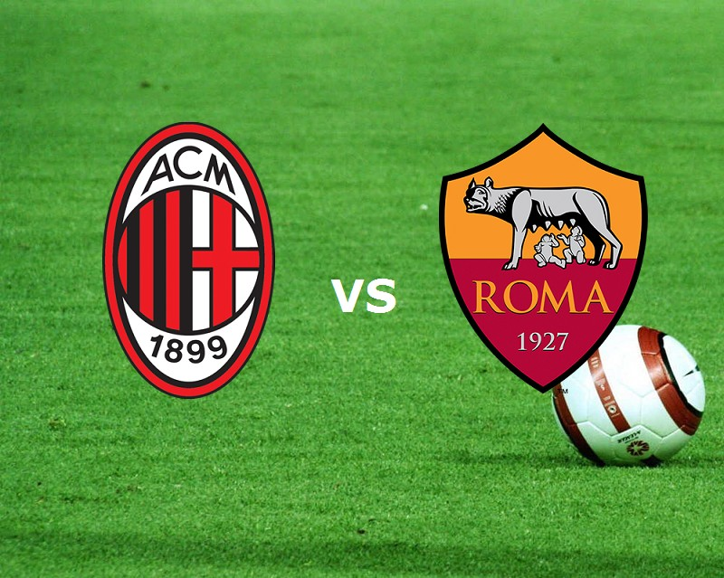 Milan Roma streaming gratis live siti we
