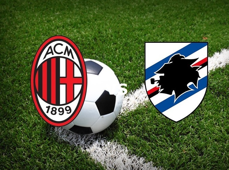 Milan Sampdoria streaming. Vedere