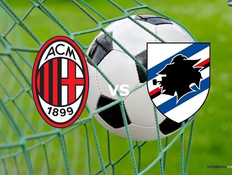 Milan Sampdoria streaming live gratis su