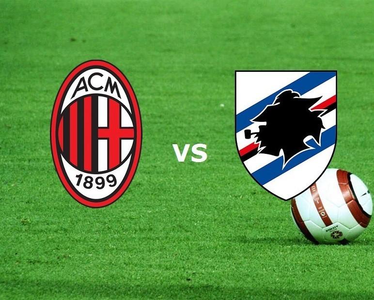 Milan Sampdoria streaming. Dove vedere s