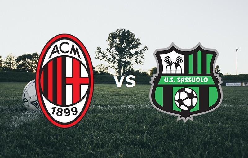 Milan Sassuolo streaming live gratis lin