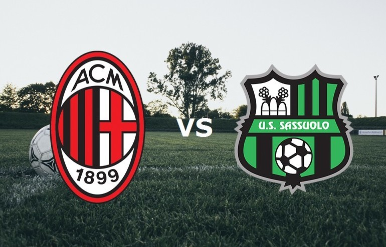 Milan Sassuolo streaming live gratis. Ve