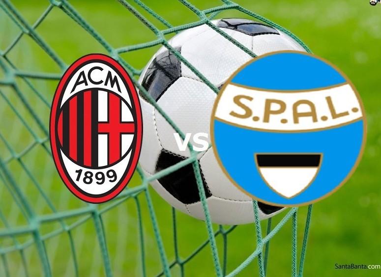 Milan SPAL streaming live diretta gratis