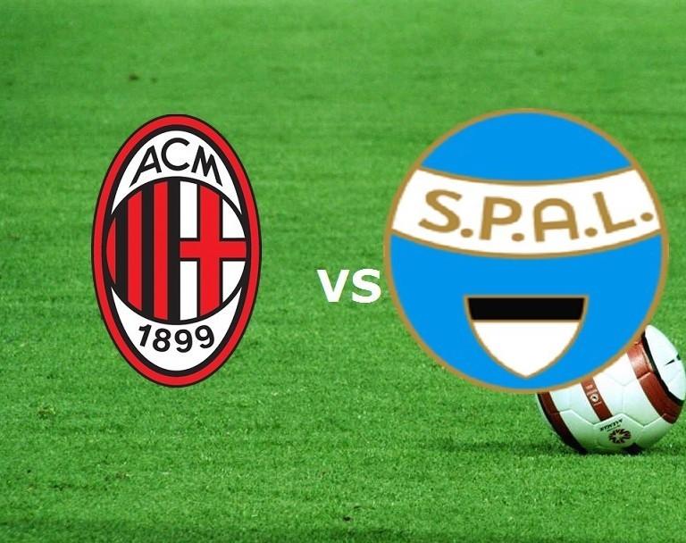 Milan SPAL streaming live gratis diretta
