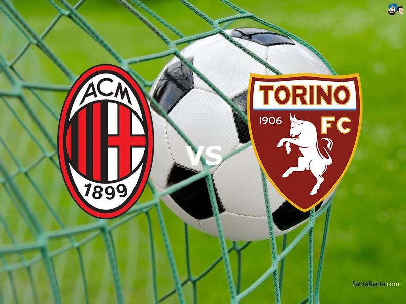 Milan Torino streaming live gratis 0 - 0