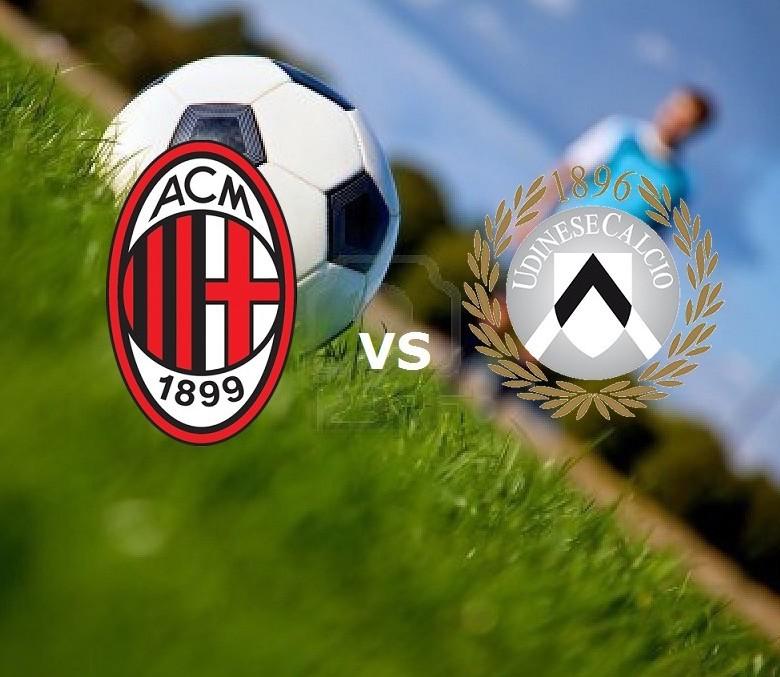 Milan Udinese streaming gratis live. Ved