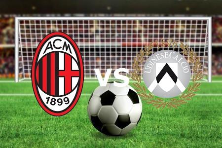 Udinese Milan streaming gratis live. Ved