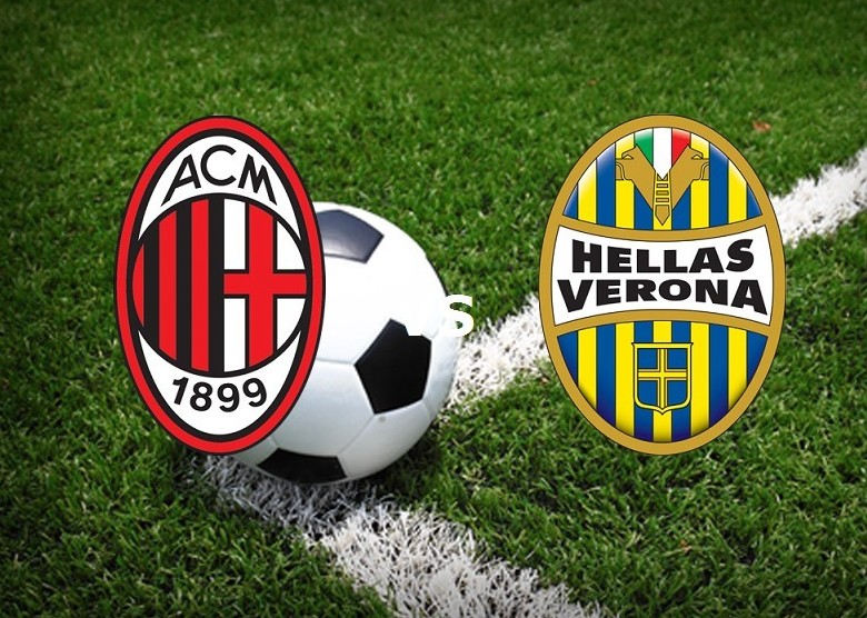 Milan Verona streaming live gratis. Dove