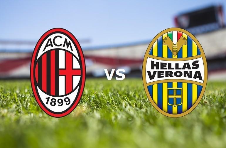 Milan Verona streaming live gratis. Vede