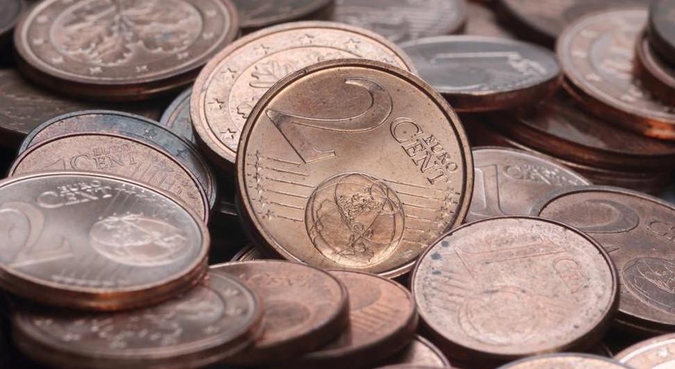 Monetine, centesimi 1 e 2 fuori circolo