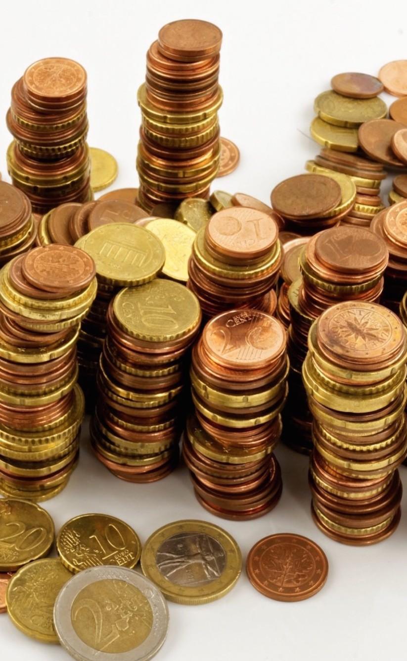 Monete 1-2 centesimi euro via da Conad e