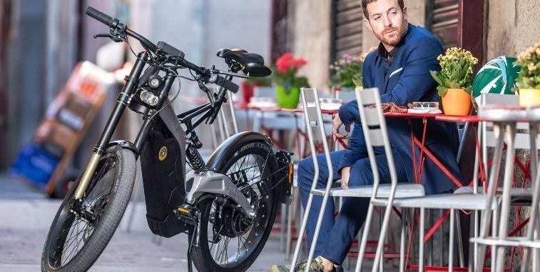 Bicicletta-Moto elettrica rivoluzionaria