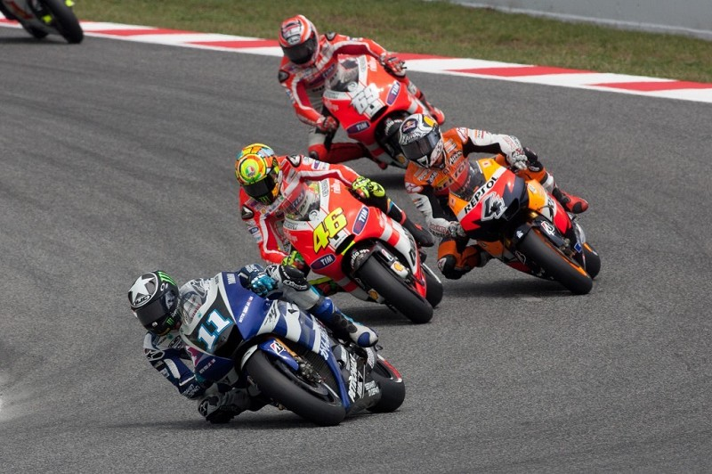 MotoGp Barcellona streaming live gratis