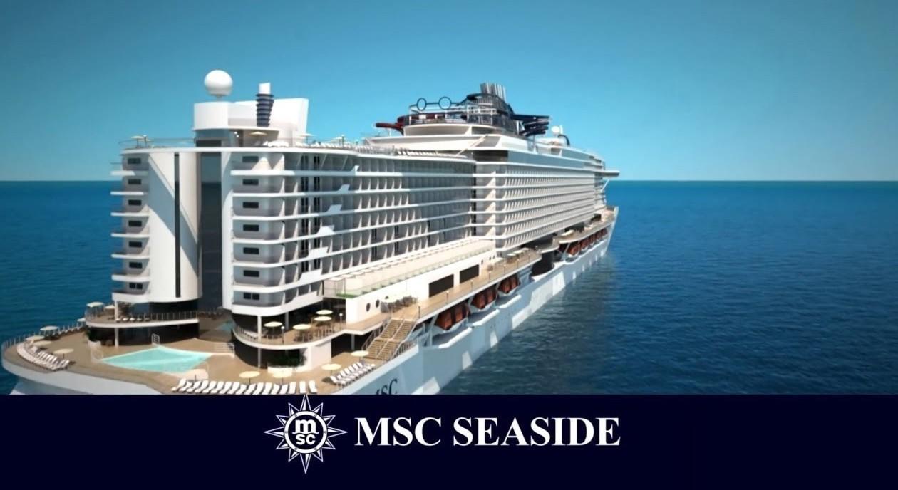 Msc Seaside orgoglio italiano. Ma litora