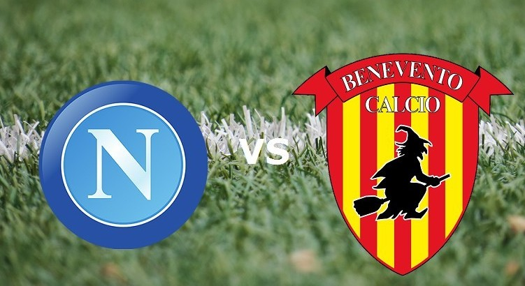 Napoli Benevento streaming gratis live.