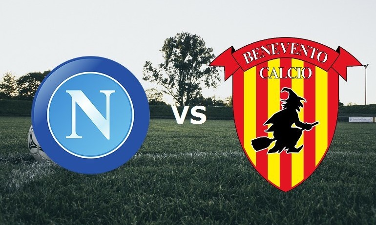 Napoli Benevento streaming gratis dirett