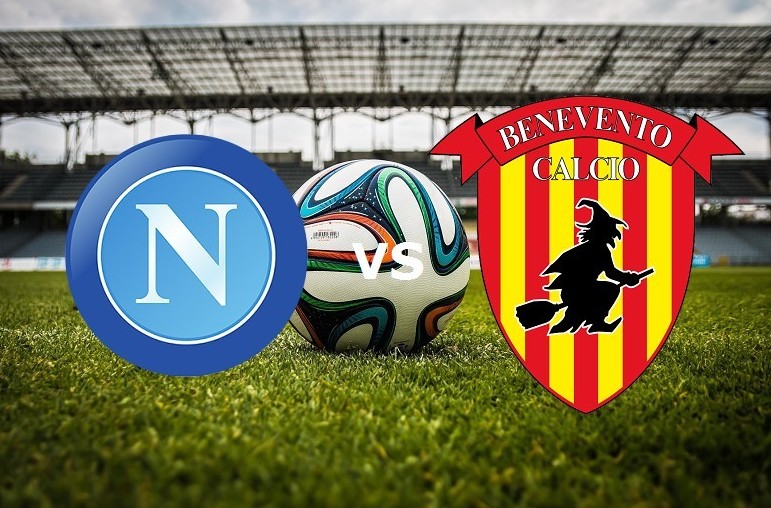 Napoli Benevento streaming live gratis d