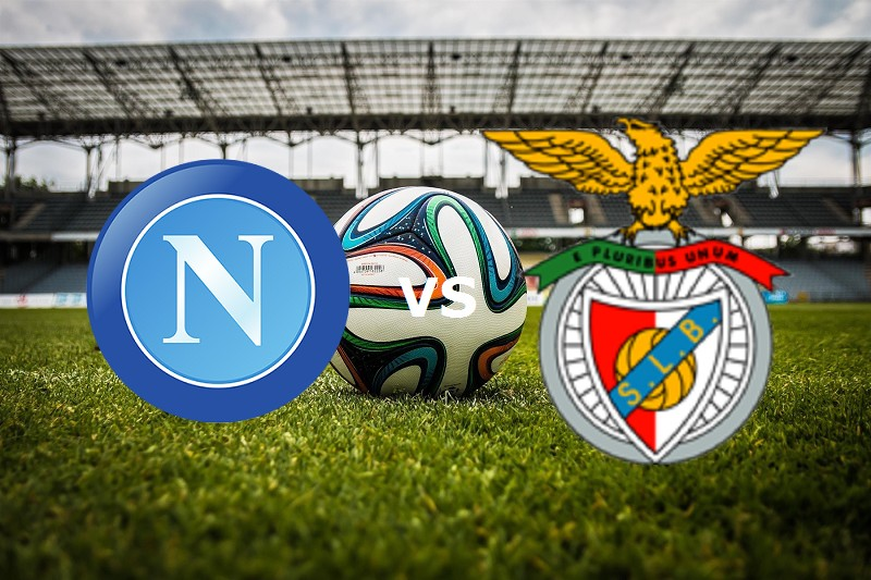 Napoli Benfica streaming gratis link, si