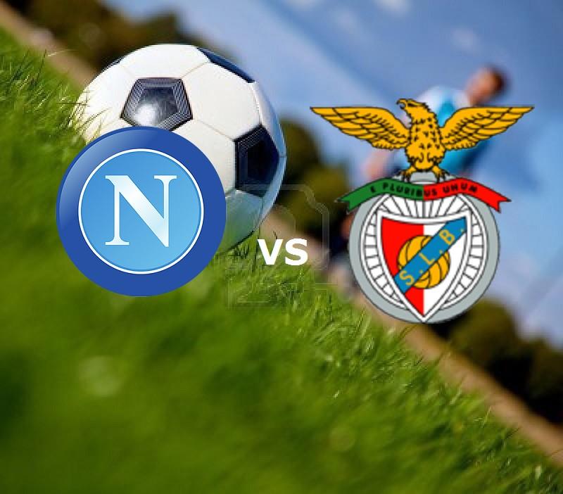 Streaming Napoli Benfica live gratis dir