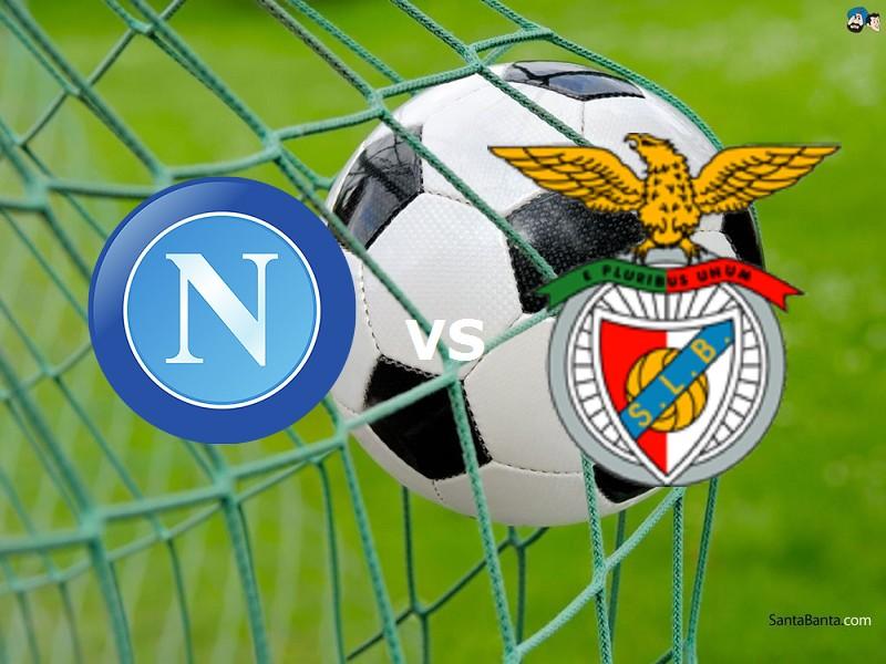 Napoli Benfica streaming live gratis. Ve