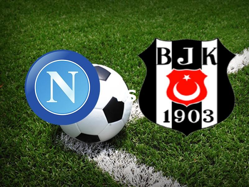 Napoli Besiktas streaming gratis live li
