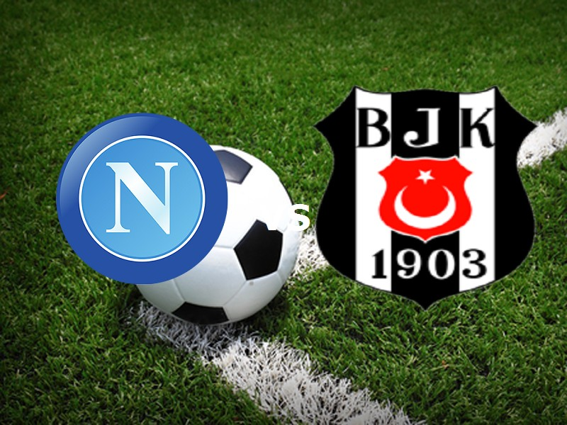 Napoli Besiktas streaming gratis live. D