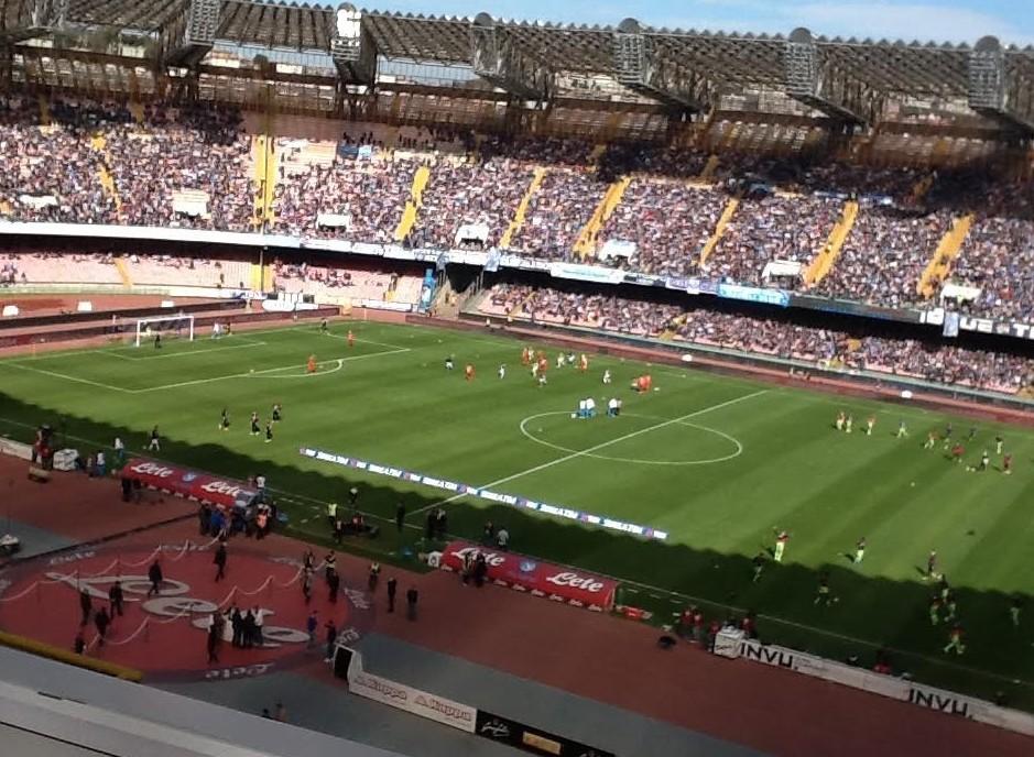 Napoli Crotone streaming live gratis dir