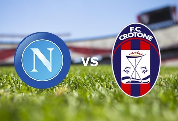 Napoli Crotone streaming gratis live lin