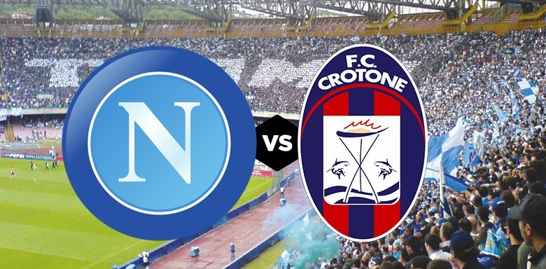 Napoli Crotone streaming su Rojadirecta,