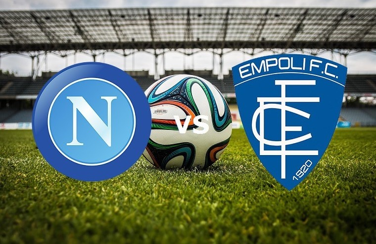 Napoli Empoli streaming. Dove vederla og