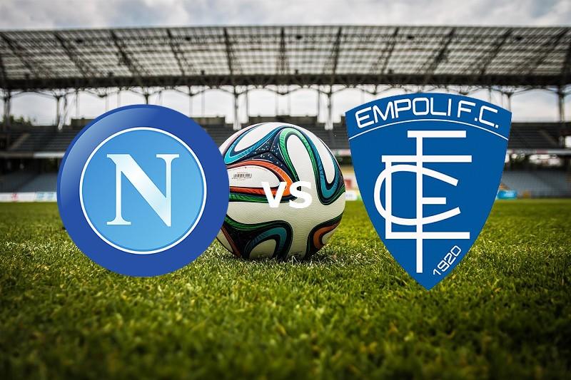 Napoli Empoli streaming gratis live siti