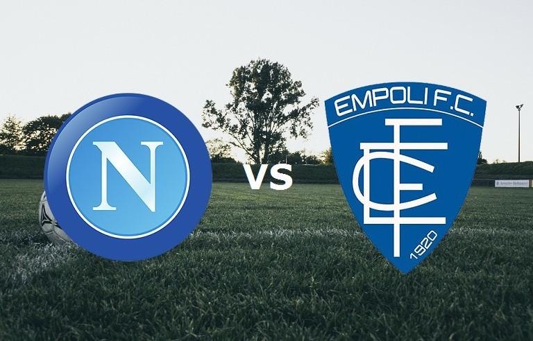 Napoli Empoli streaming gratis live su s