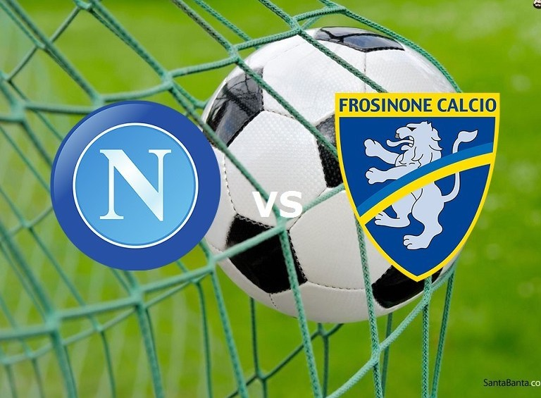 Napoli Frosinone streaming gratis adesso