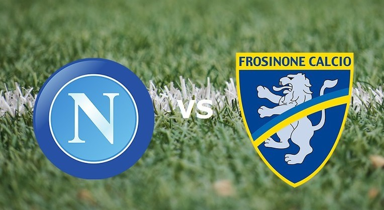 Napoli Frosinone streaming ora gratis li