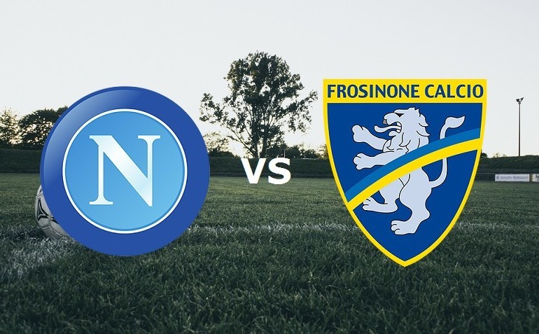 Napoli Frosinone streaming gratis per ve