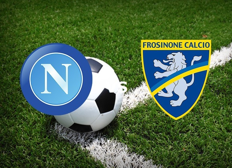 Napoli Frosinone streaming live gratis s