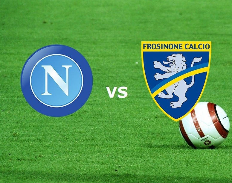 Napoli Frosinone streaming live gratis p