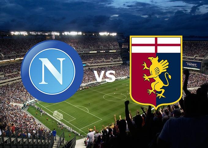 Napoli Genoa streaming live gratis diret