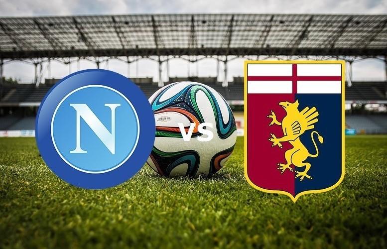 Napoli Genoa streaming gratis live su si