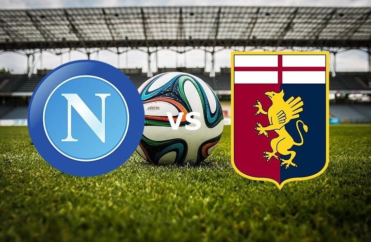 Napoli Genoa streaming gratis live. Vede