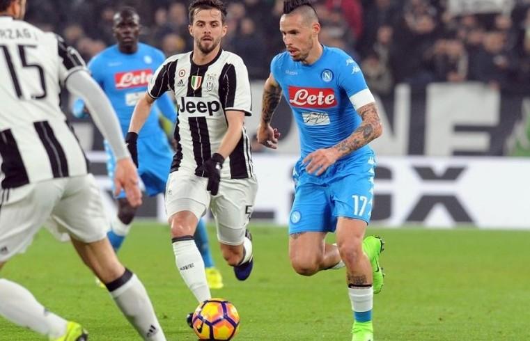Napoli Juventus streaming e in italiano